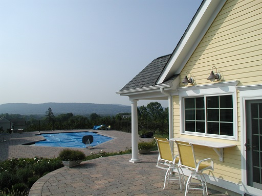 Hunterdon County NJ Architect pool cabana