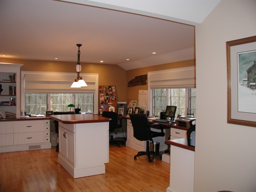 Hunterdon County NJ Home Office architectural design