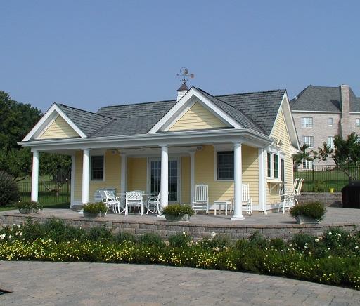 Architect NJ Hunterdon County Cabana
